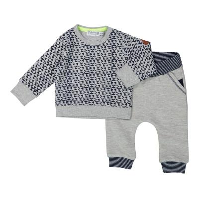 Dirkje Babyset 2 stk (blauw/grijs)