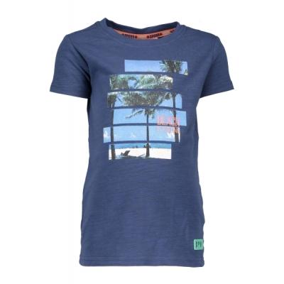 Bampidano T-shirt met print (navy)