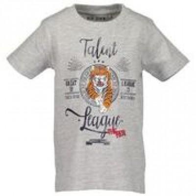 Blue Seven T-shirt grijs tijger