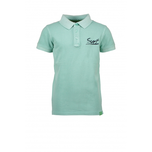B.Nosy - Baby jongens polo - Ice green