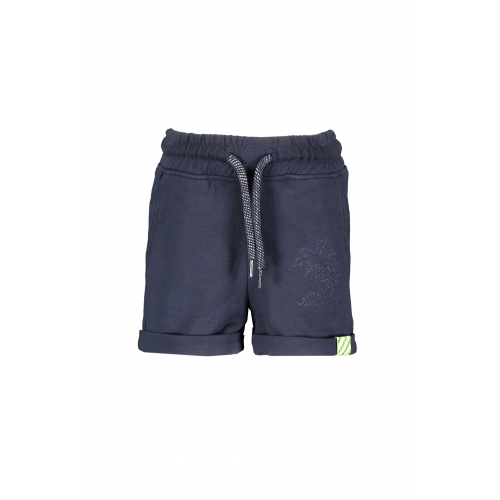 B.Nosy - Baby jongens short - oxford blue