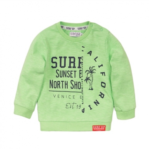 Dirkje - sweater lichtgroen surf