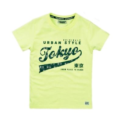 DJ Dutch Jeans - T-shirt neon geel